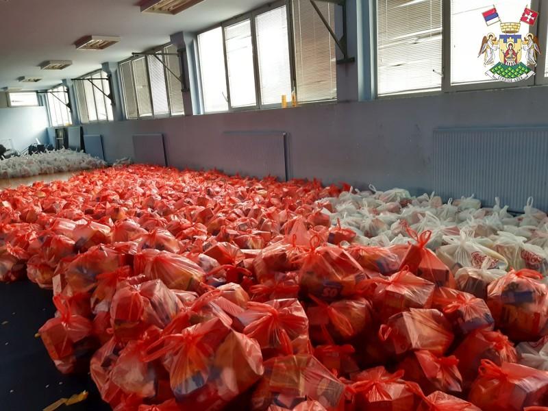 Почео други круг дистрибуције хуманитарних пакета